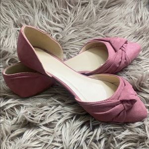 Pink Flats from Charlotte Russe.